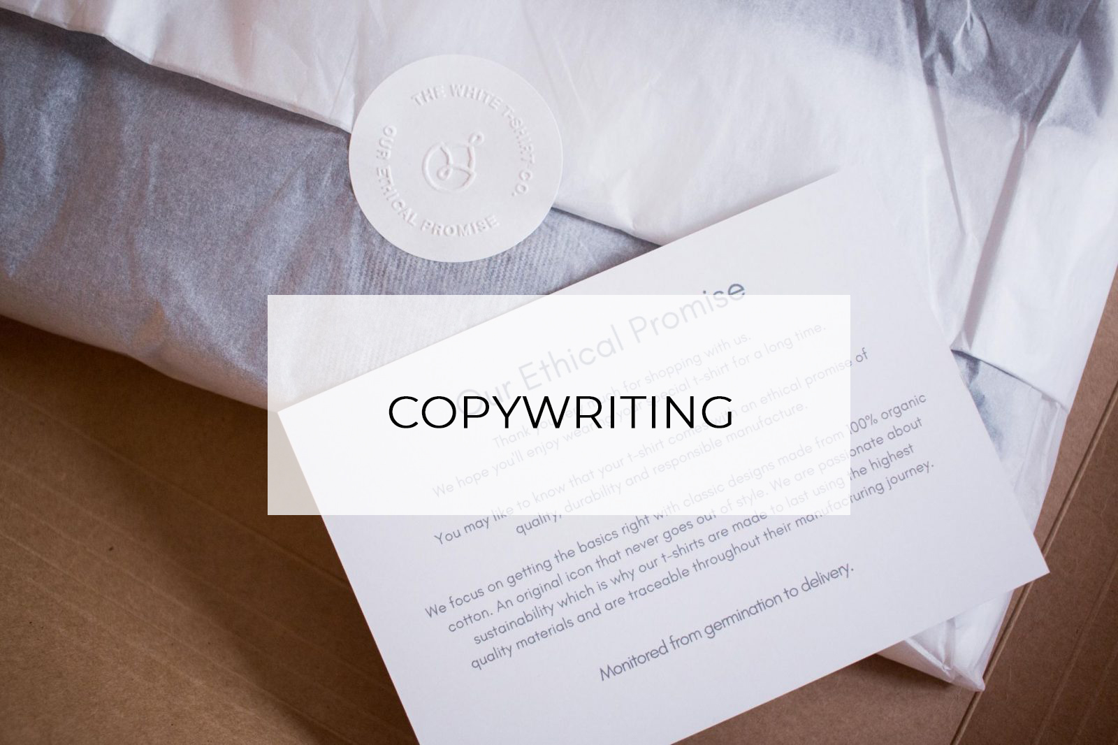 Copywriting Services Hannah Layford