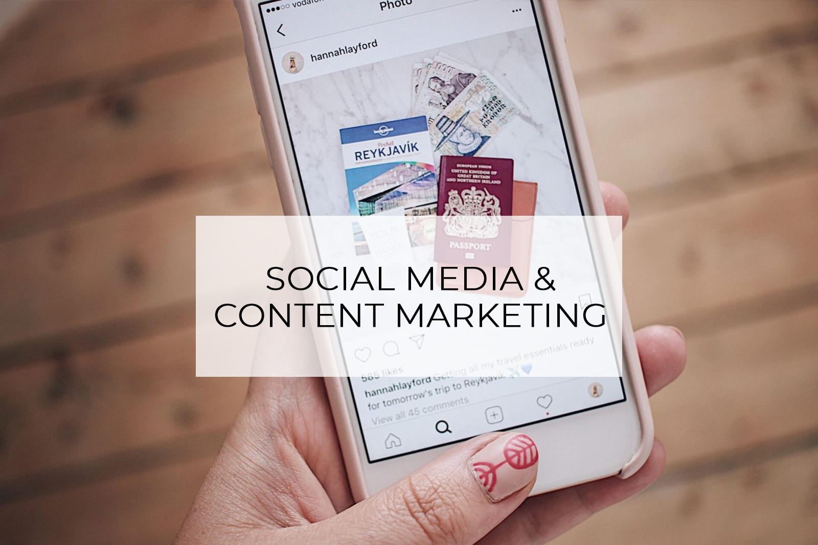 Social Media and Content Marketing Services Hannah Layford