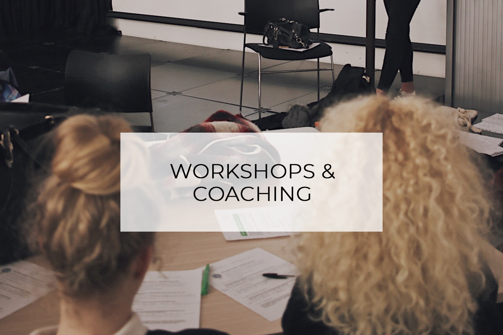 Workshop and Coaching Services Hannah Layford