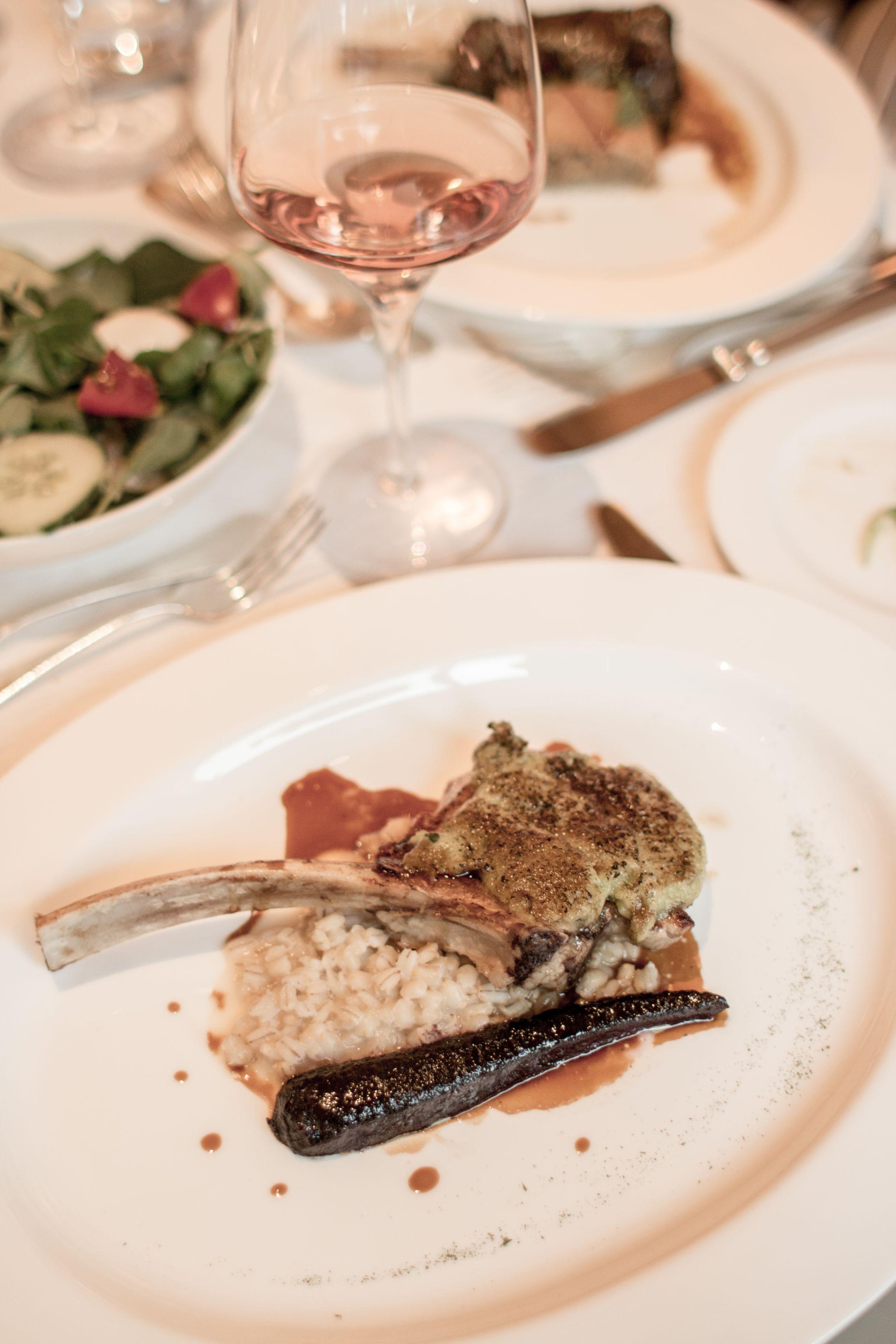 Adler Dolomites Hotel Ortisei Italy Hotel Hospitality Brand Photography Evening Meal Italian Food