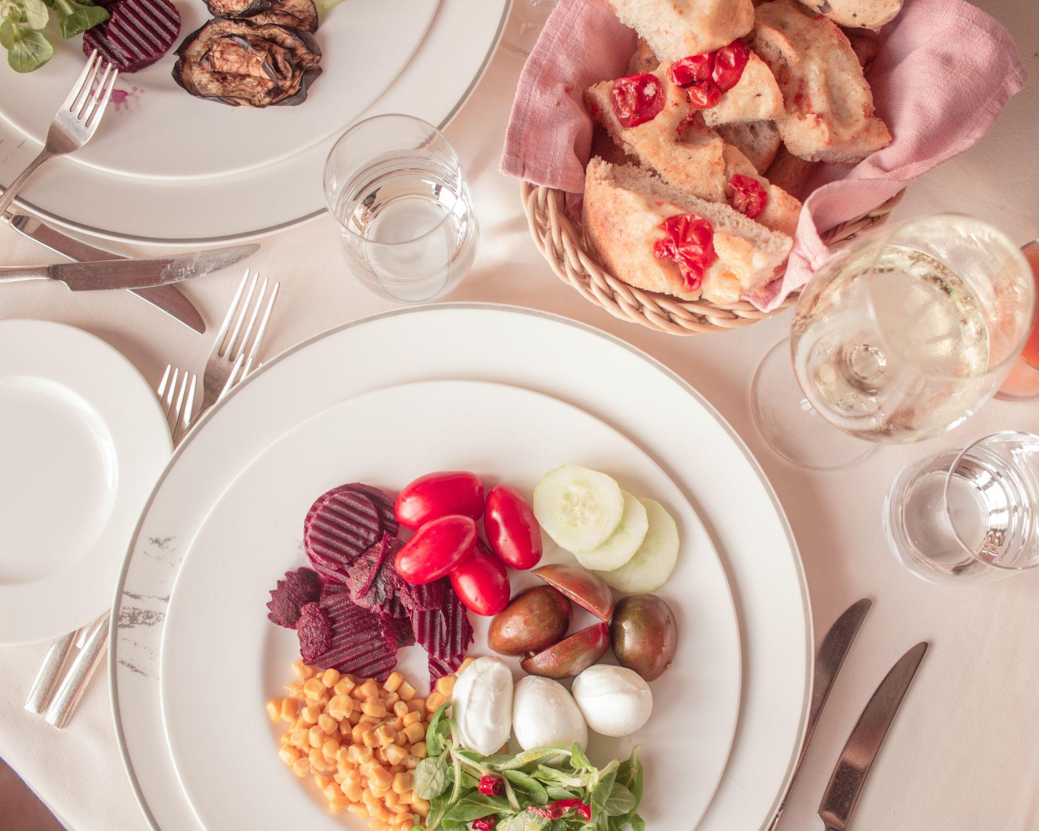 Adler Thermae Hotel Tuscany Hospitality Brand Hotel Travel Photography tuscan salad
