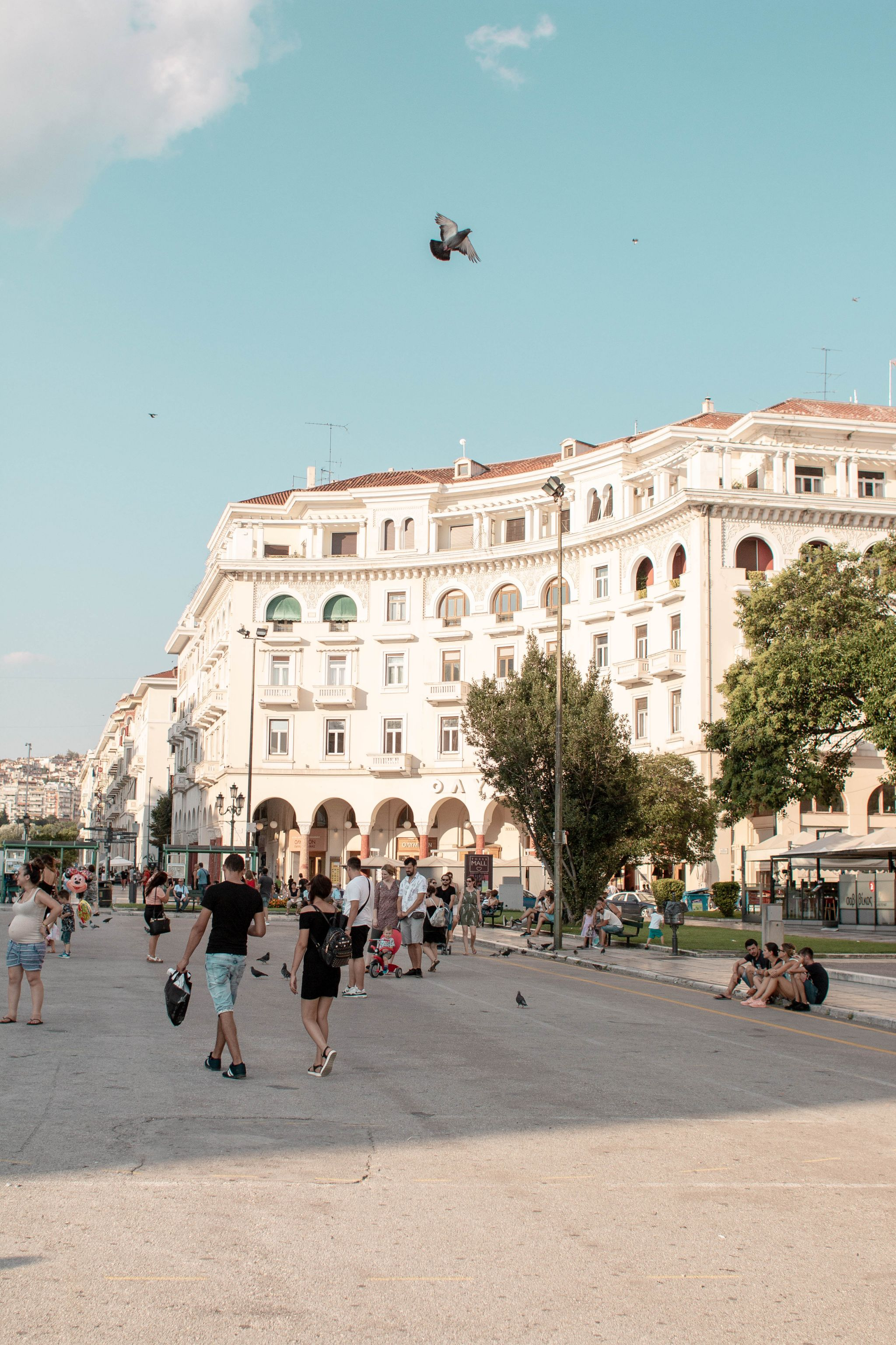 Aristotelous hannah layford travel photography tourist board discover greece thessaloniki Aristotelous square