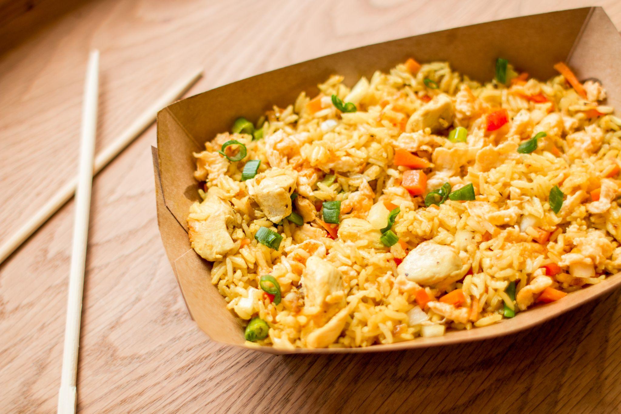 Canaca Street Food Menu Photography nasi goreng