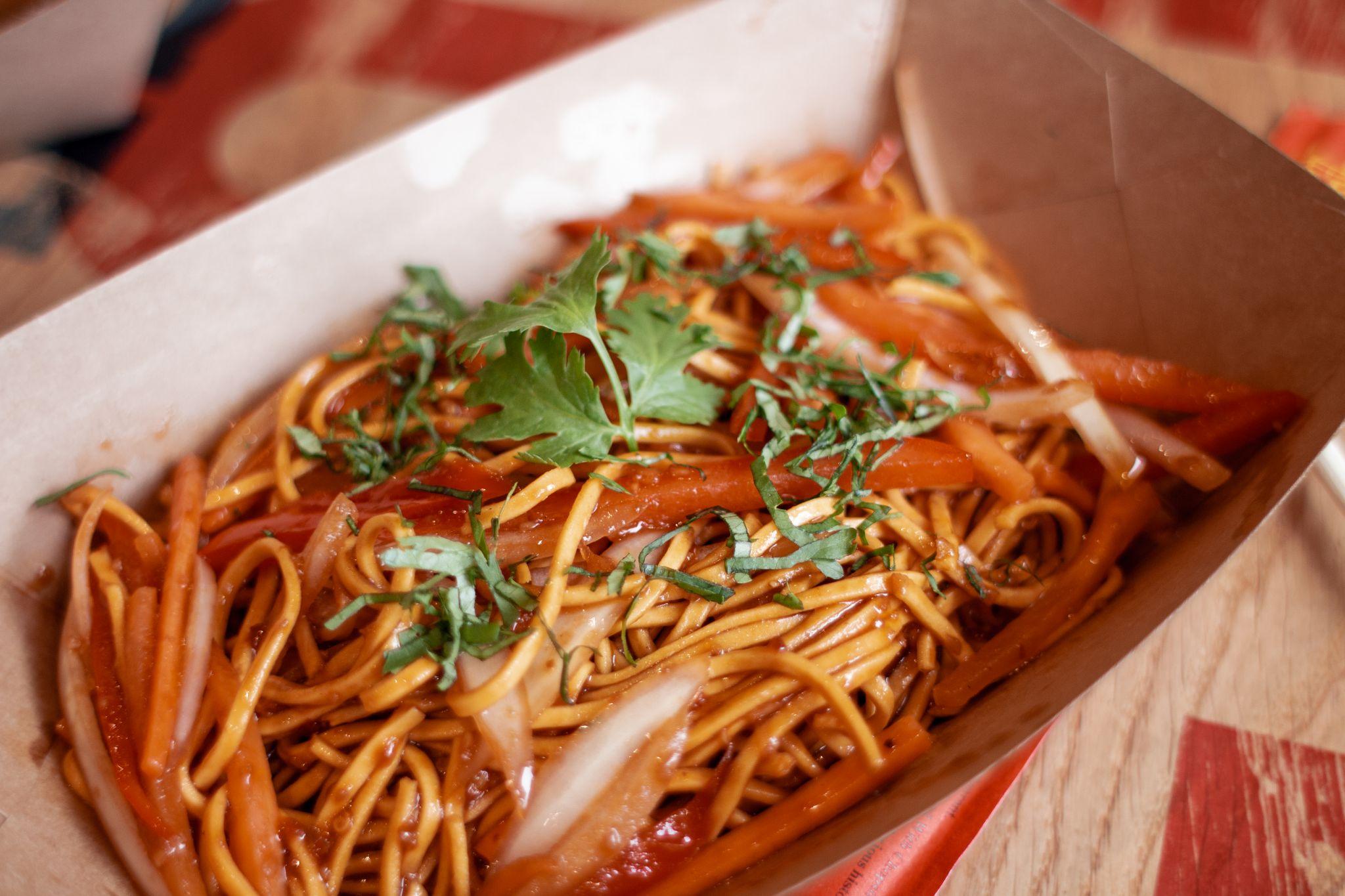 Canaca Street Food Menu Photography noodles street food