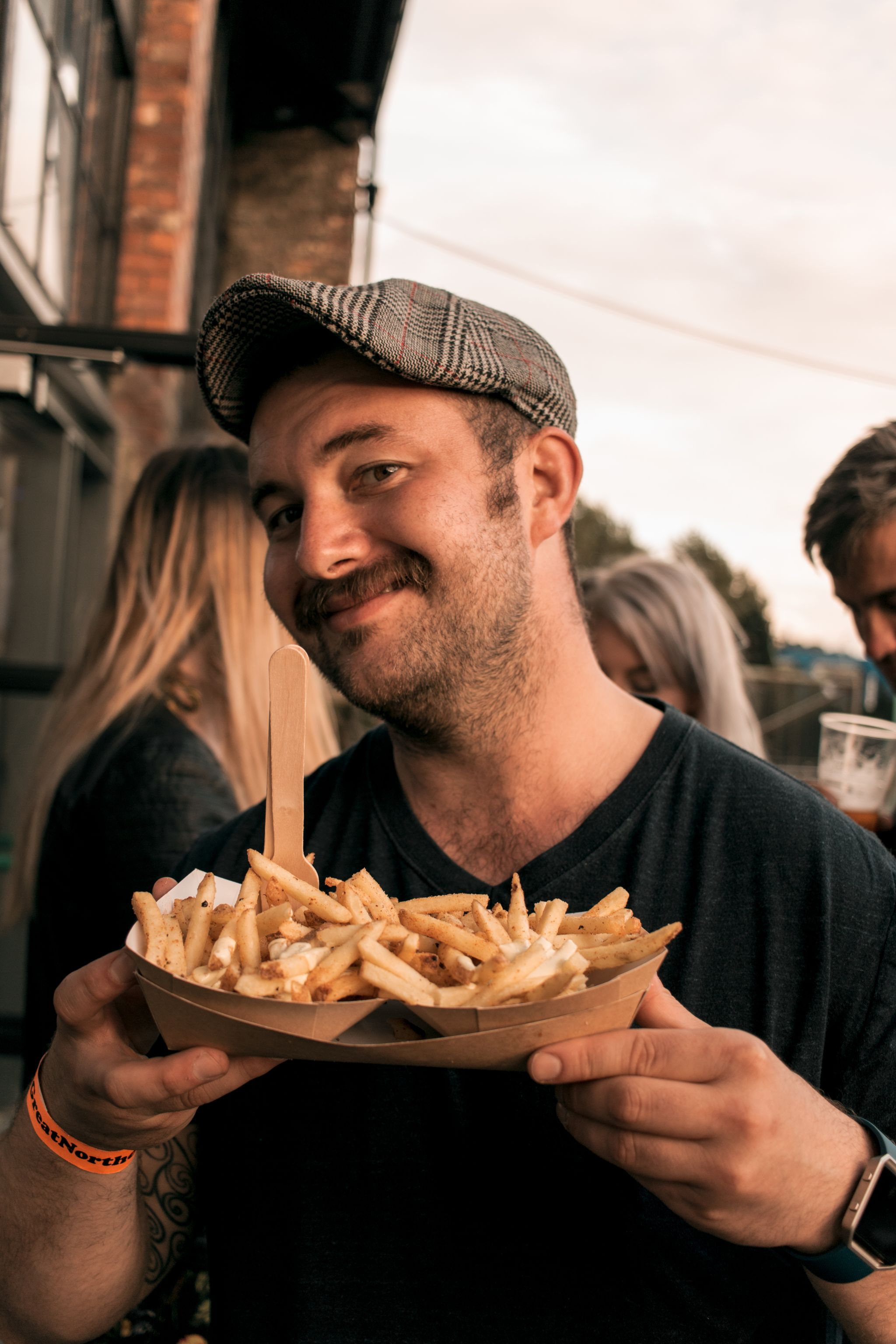 Great-Northern-Soul-Food-Newcastle-event photography-Boiler-Shop-fries-people