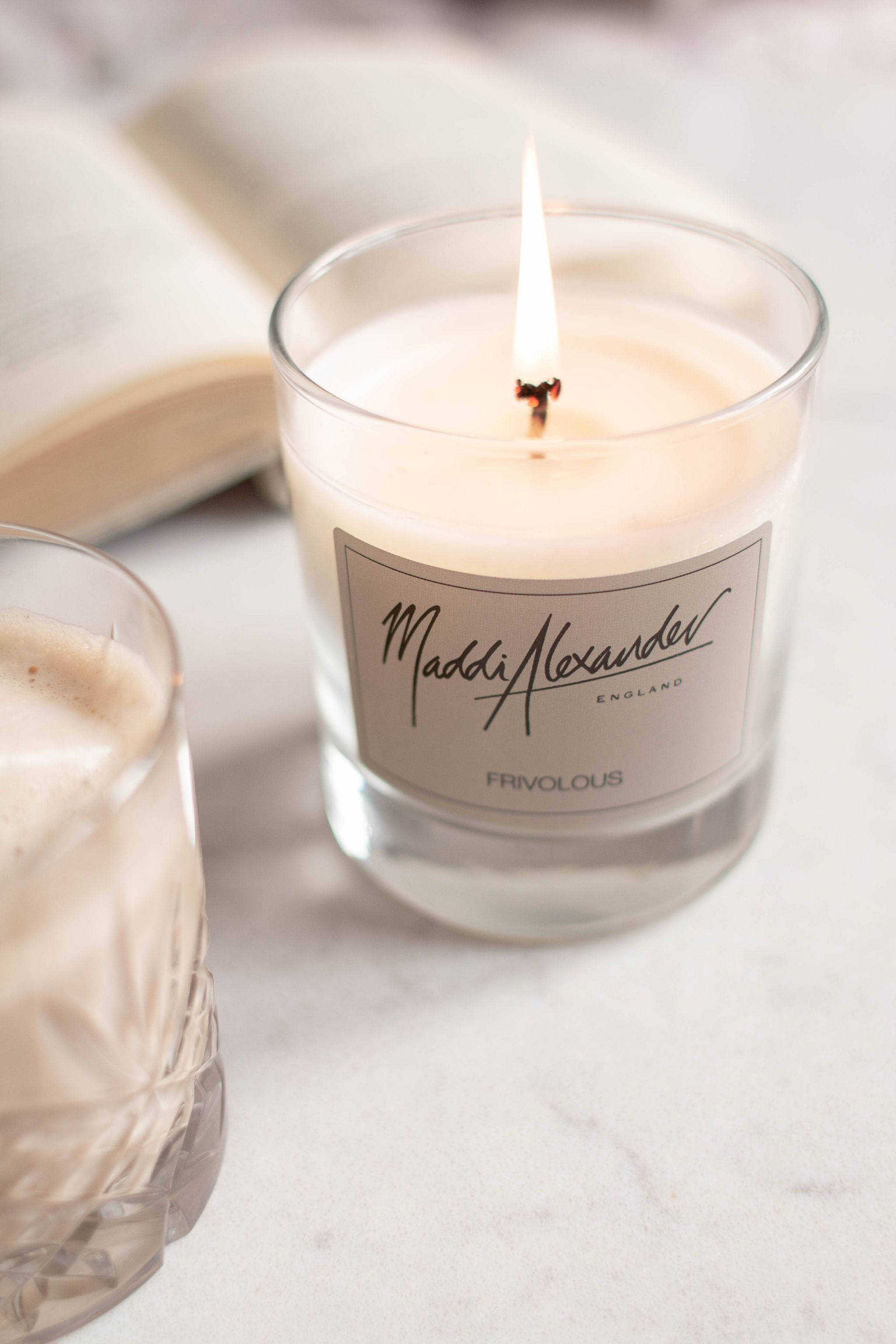 Maddi Alexander Social Media Photography Lifestyle Content Creation evocative candle