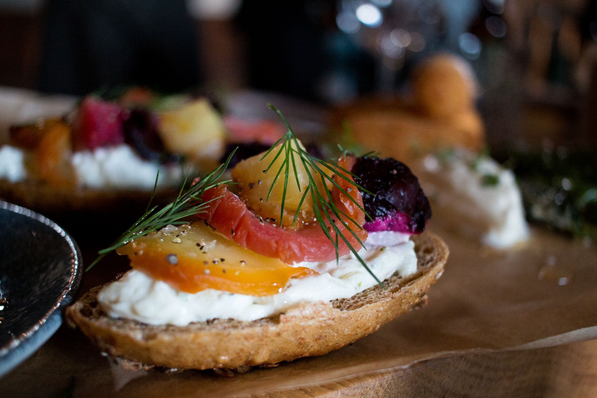 bonded warehouse food photography sunderland bruschetta