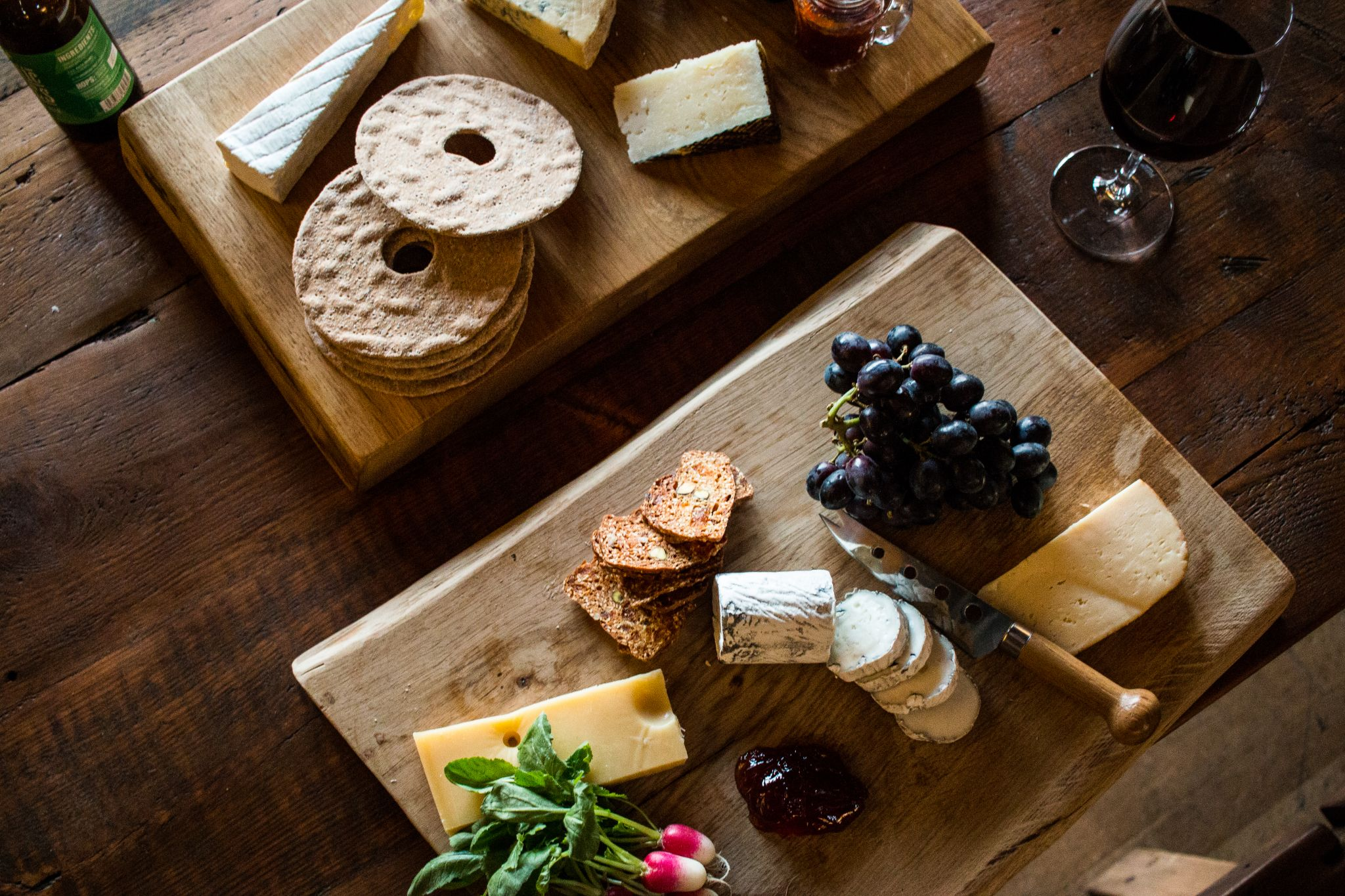 bonded warehouse food photography sunderland cheese board