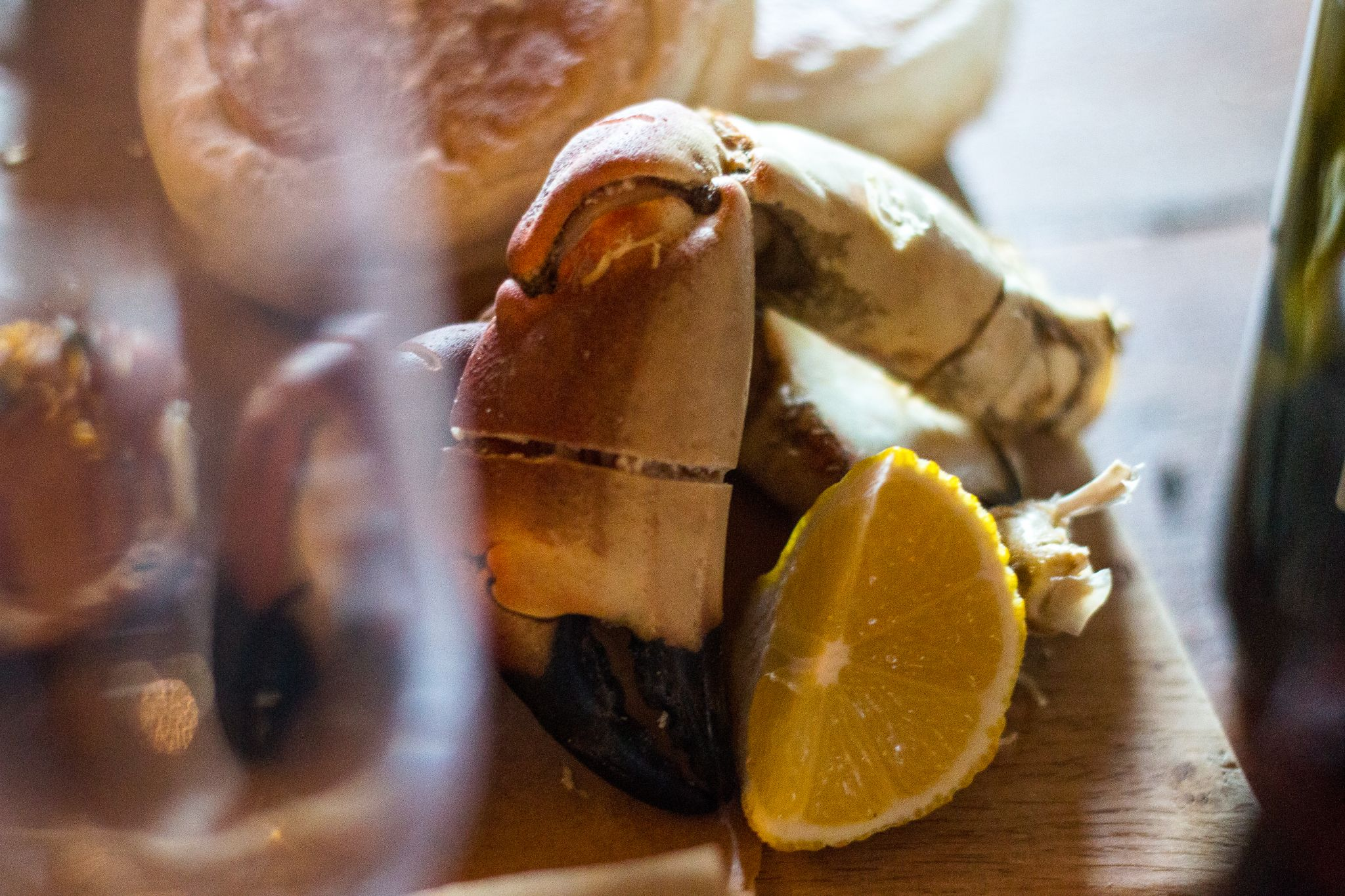 bonded warehouse food photography sunderland crab claw