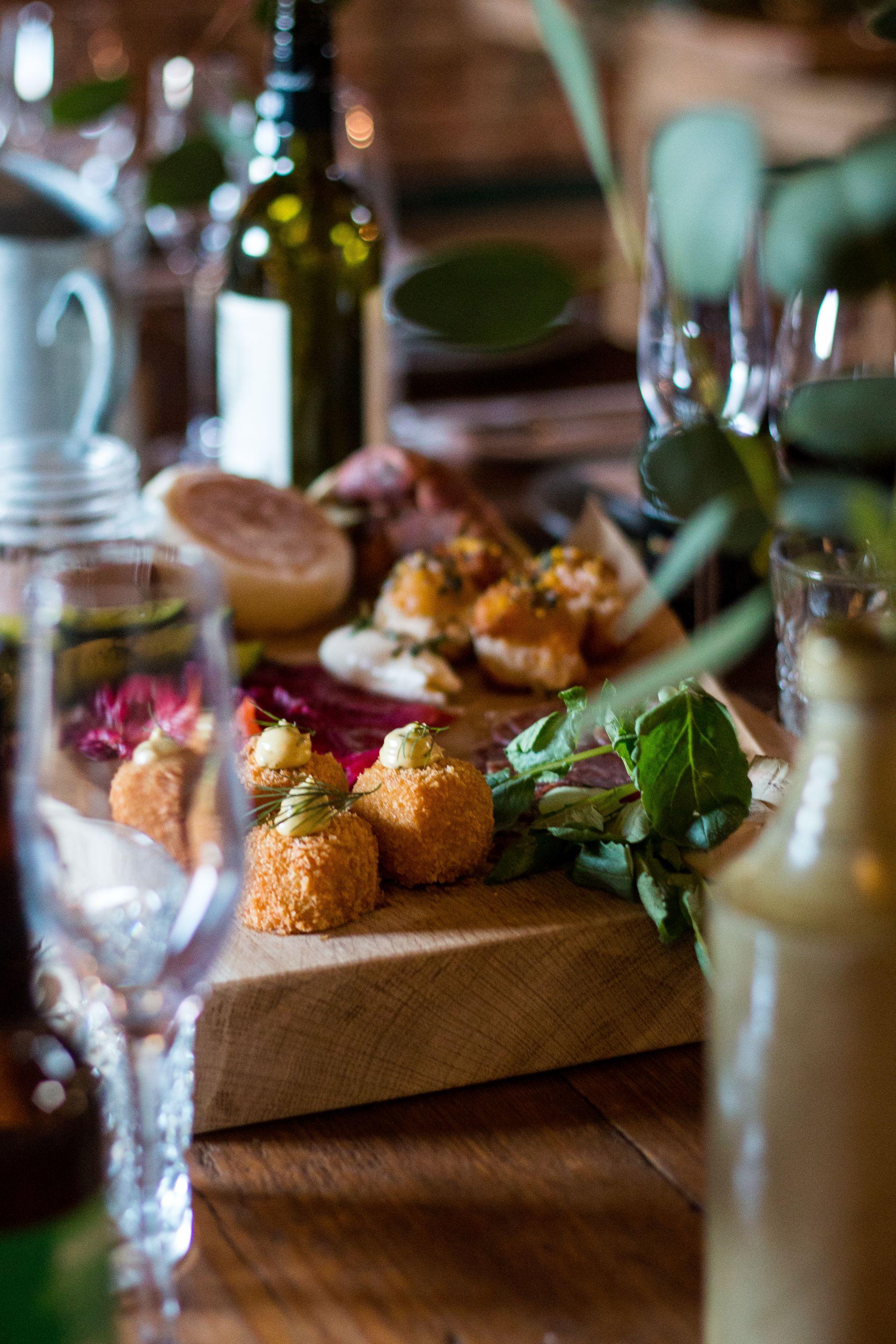 bonded warehouse food photography sunderland food wedding menu