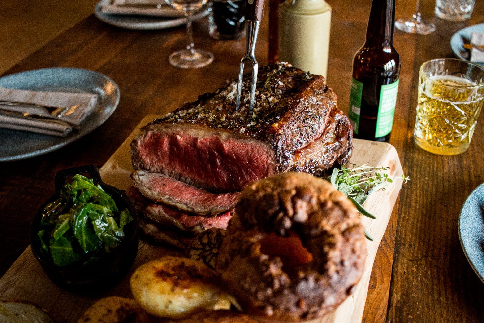 bonded warehouse food photography sunderland roast beef sunday club