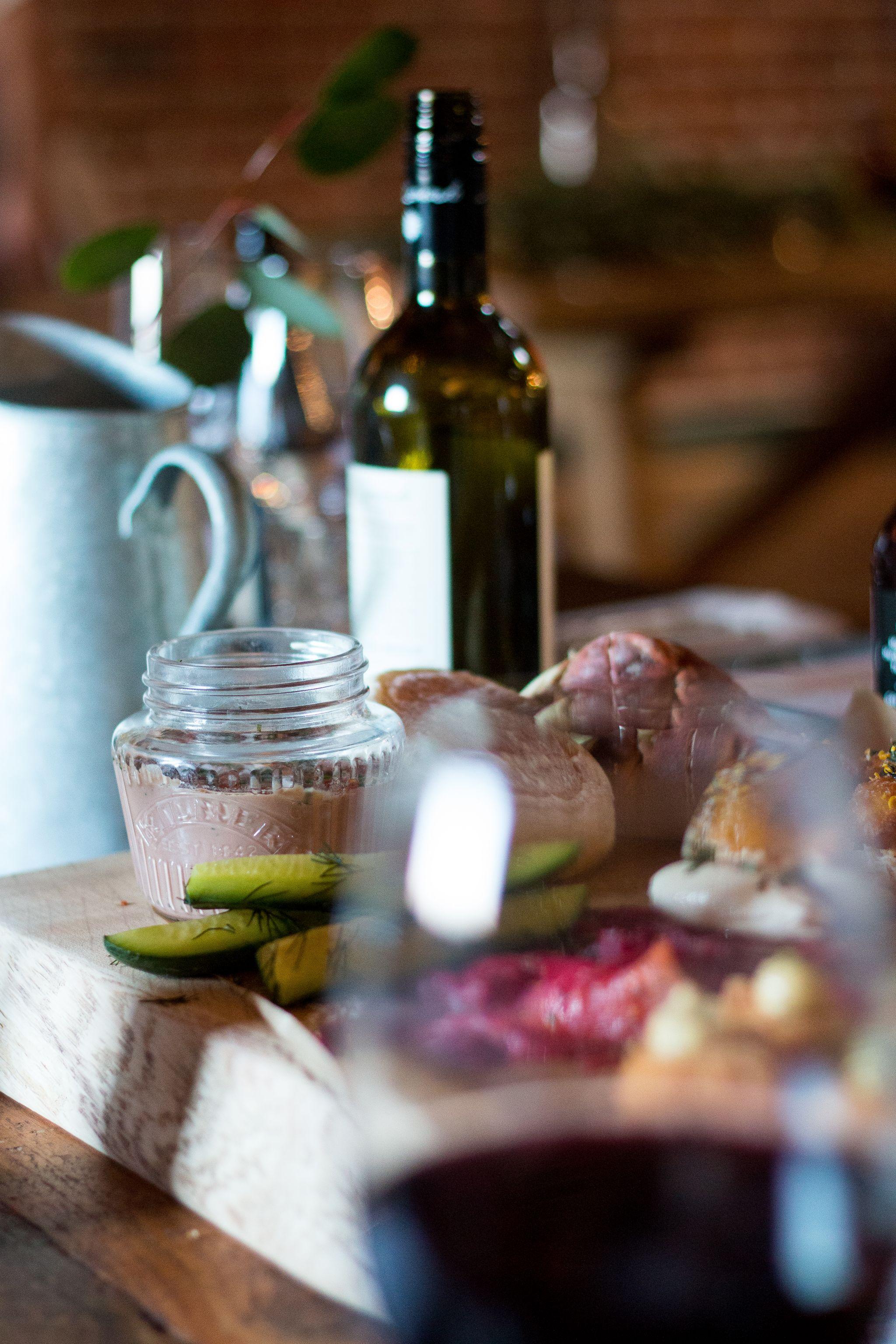 bonded warehouse food photography sunderland wedding menus
