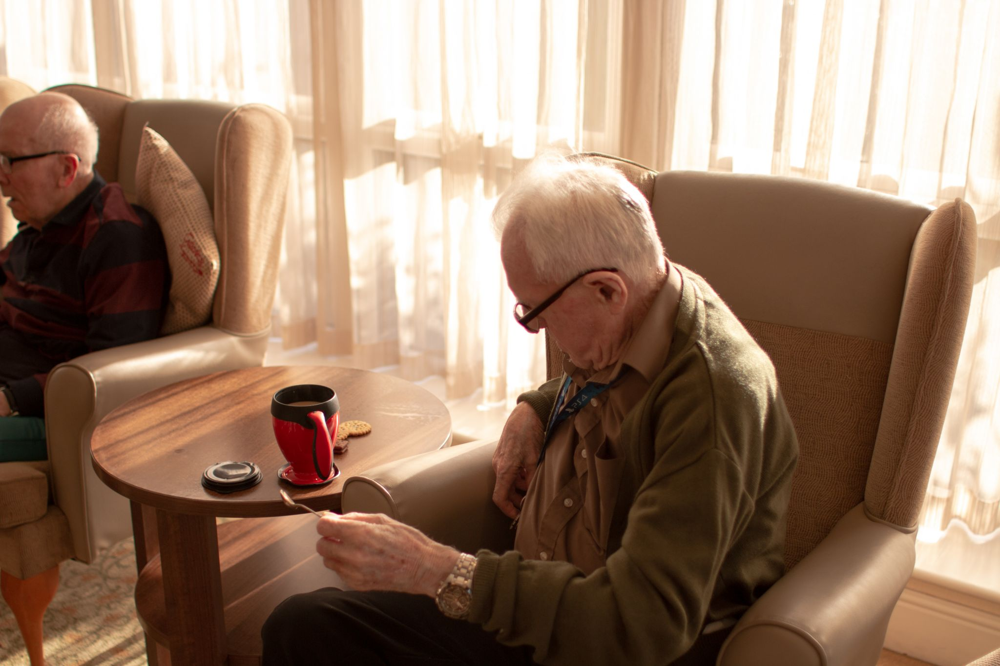 craig healthcare residents lifestyle photography hannah layford resident making tea