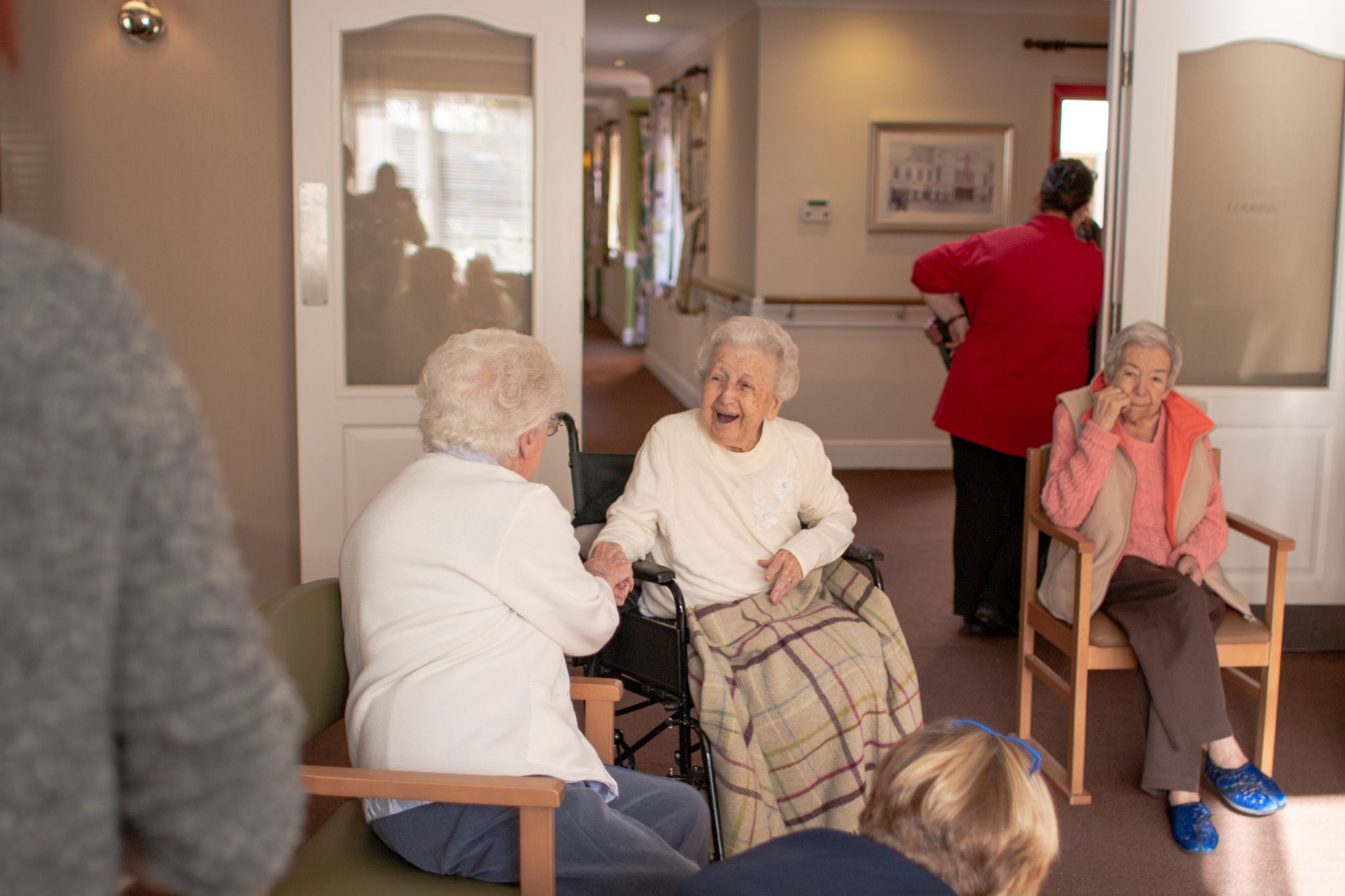craig healthcare residents lifestyle photography hannah layford residents laughing