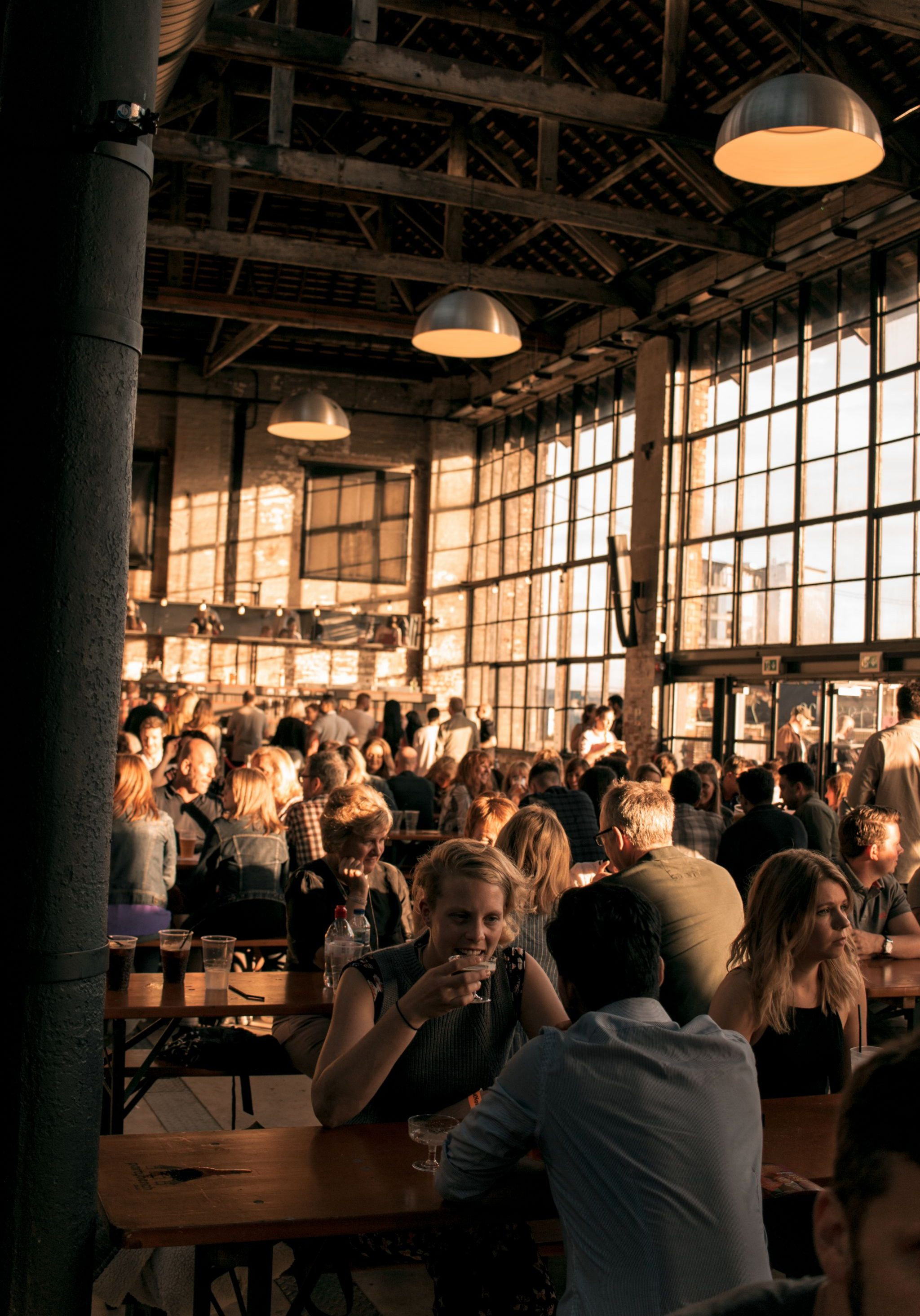 Great-Northern-Soul-Food-Newcastle-event photography-Boiler-Shop-crowd