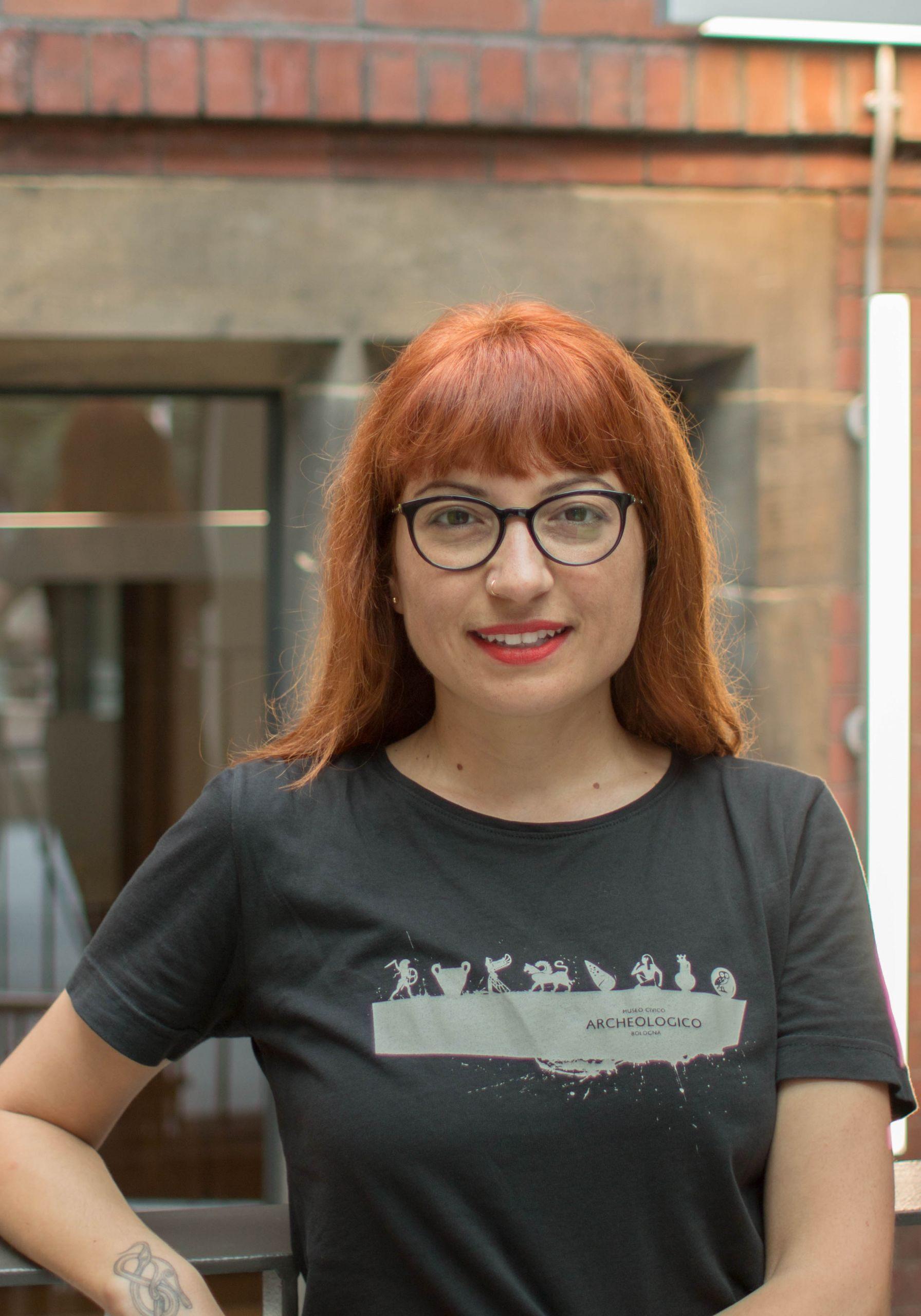 Hannah Layford Newcastle University SACS staff profile photography business profile photography portrait gonal
