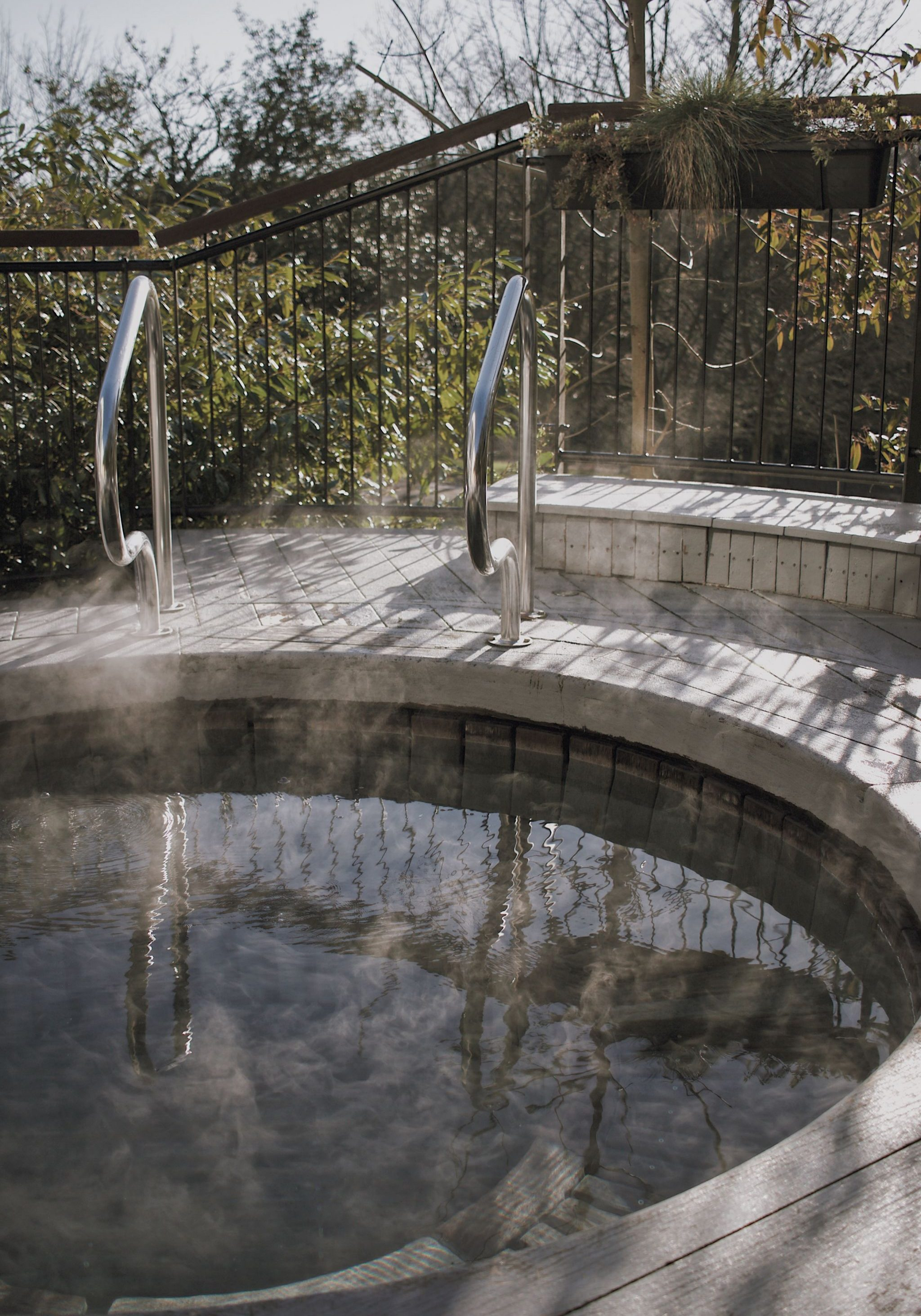 Seaham Hall outdoor hot tub brand photography hotels hospitality