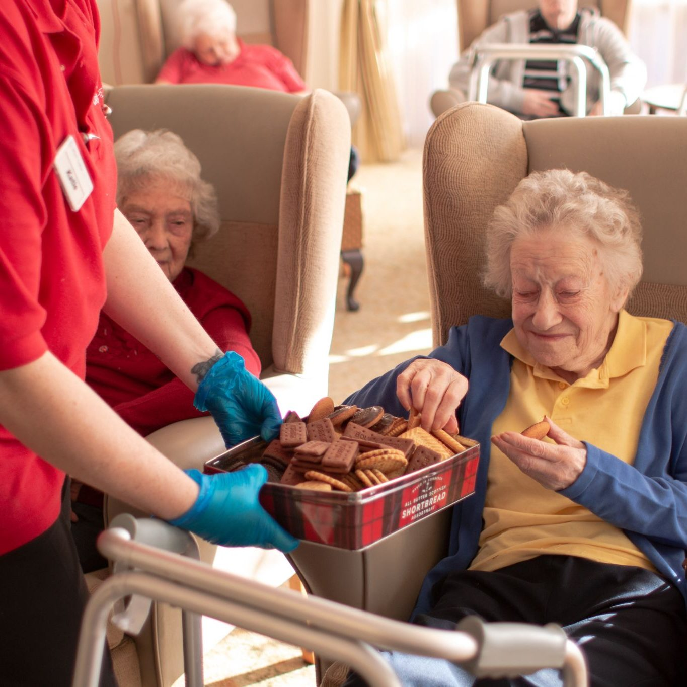 craig healthcare residents lifestyle photography hannah layford biscuit tea