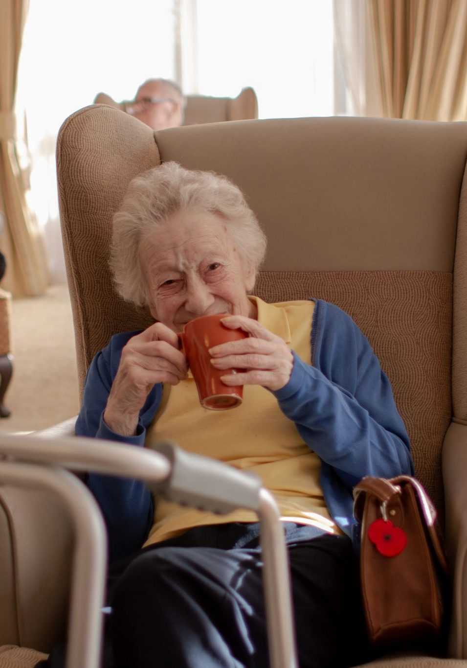 craig healthcare residents lifestyle photography hannah layford drinking tea